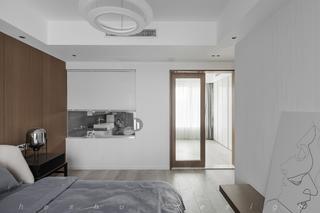 120平簡約風之家臥室隔斷