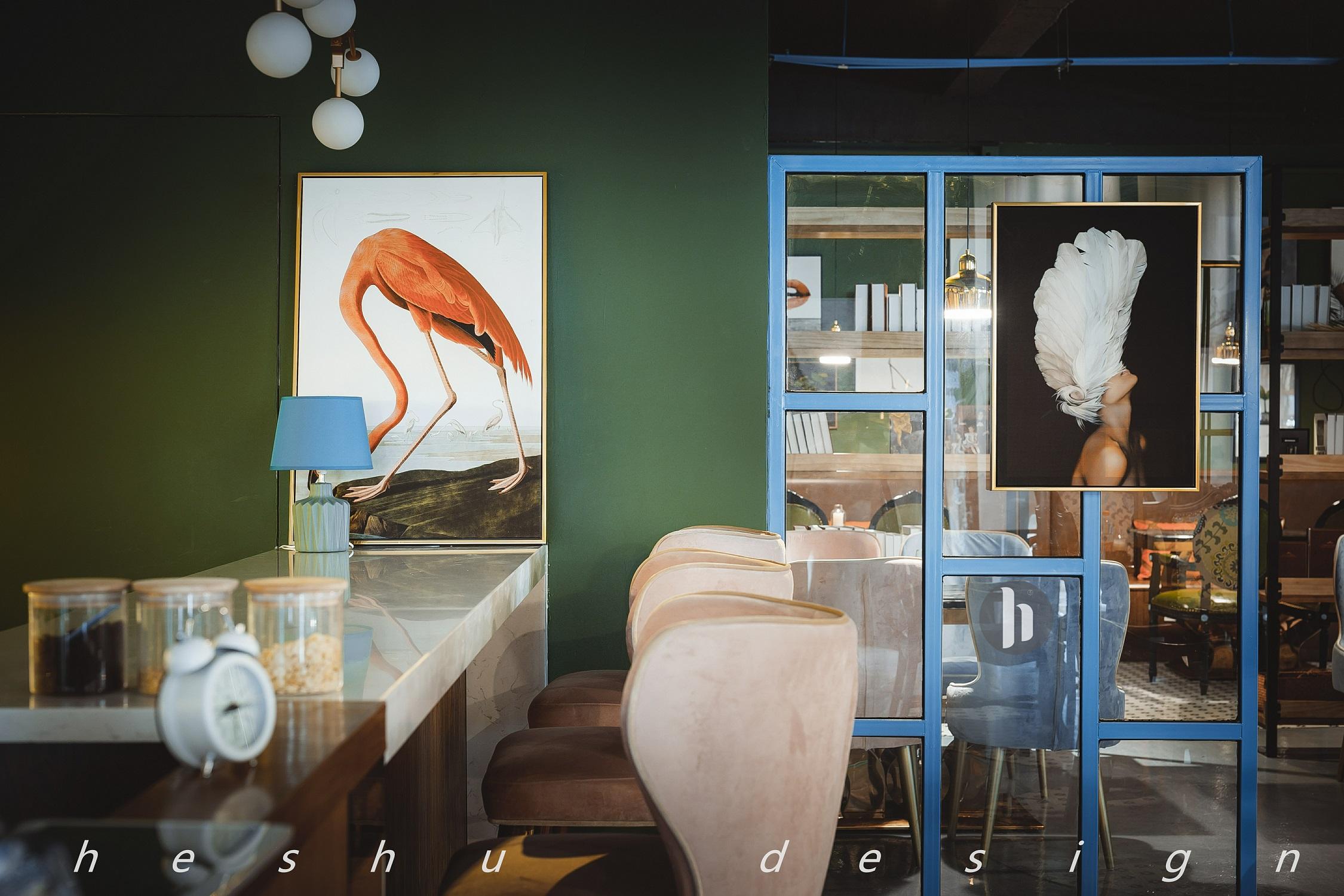 咖啡店装修内部餐厅效果图