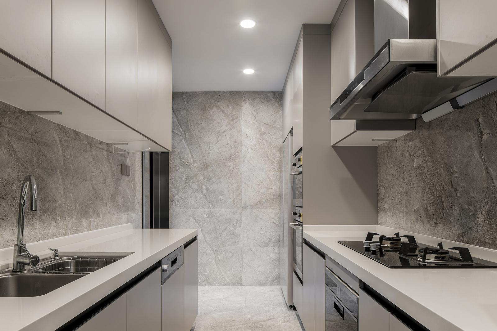 下叠别墅装修厨房设计图