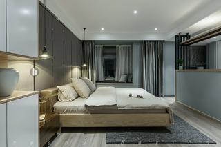 四居室简约风格家卧室效果图
