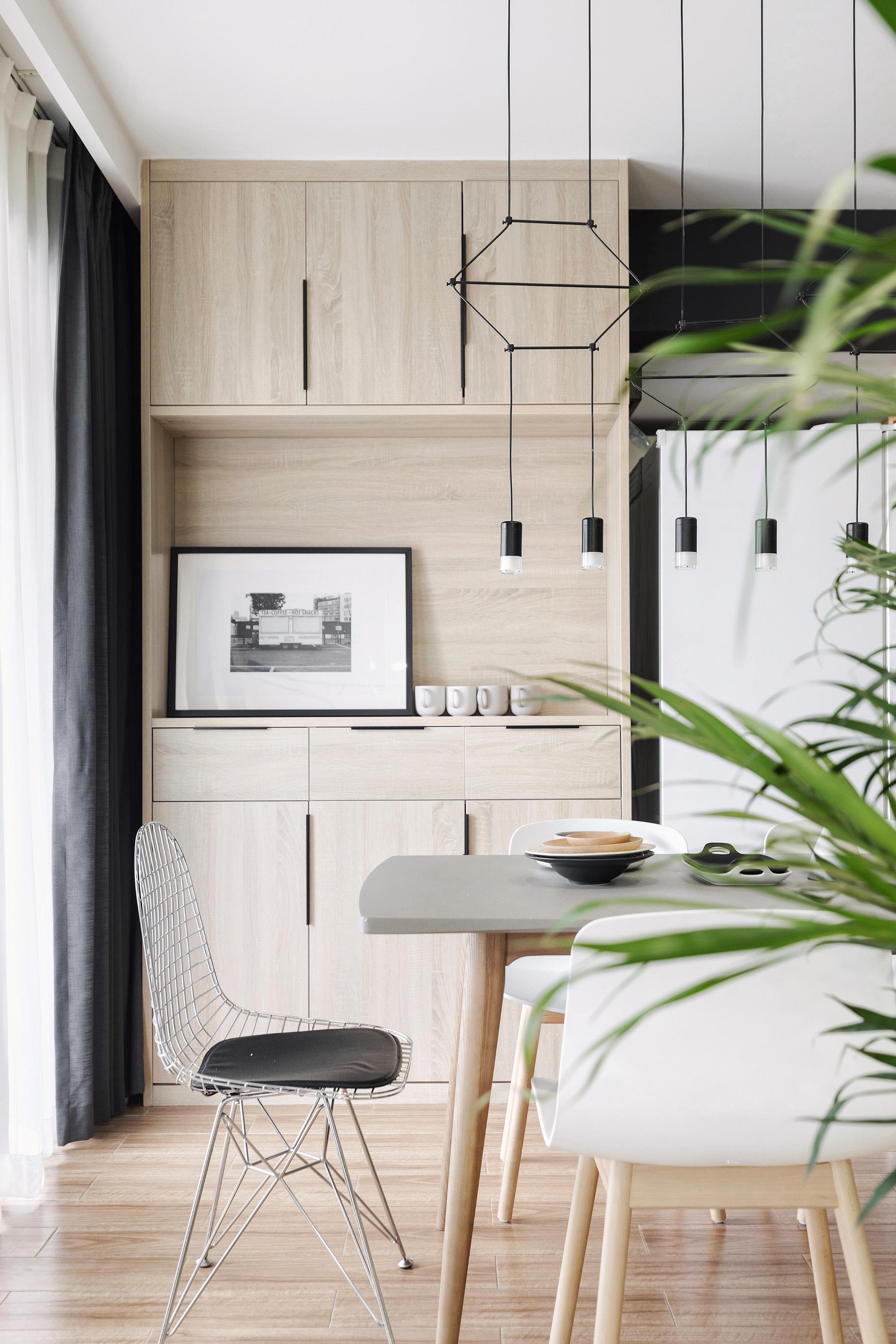 248平北欧风装修餐边柜图片