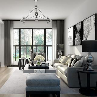 北欧二居室装修 宁静平和