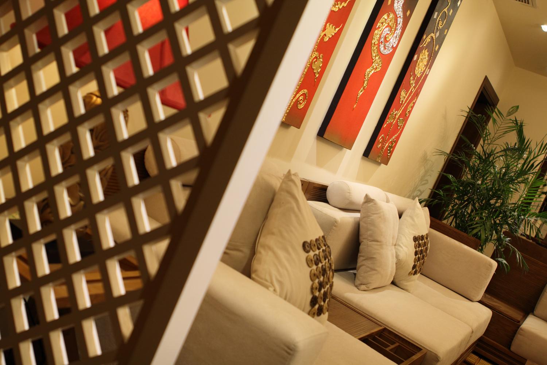 东南亚风格三居沙发图片