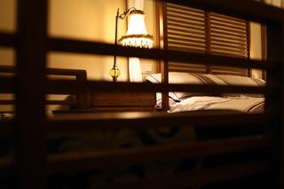 东南亚风格三居卧室小景
