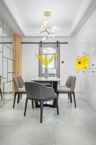 二居室北欧风格家谷仓门设计