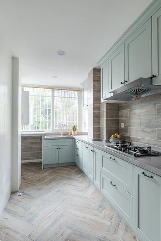 三居室北欧风之家厨房装潢图
