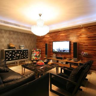 三居室现代风格家 舒适大气