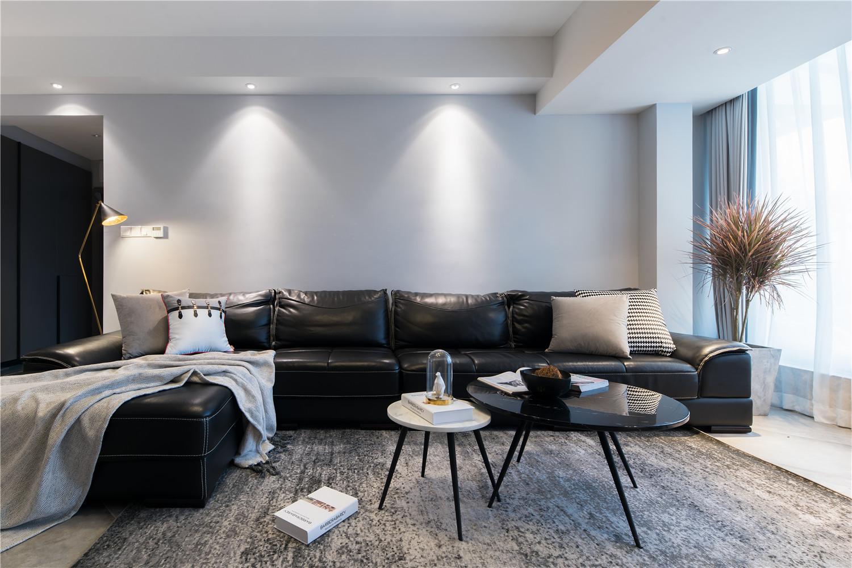 现代简约风格装修沙发图片