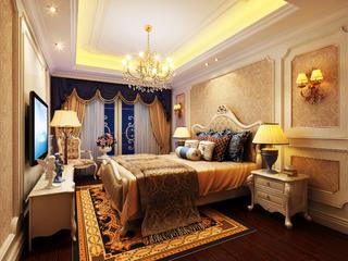 欧式别墅装修老人房设计