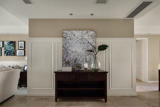 140平美式风格家玄关设计