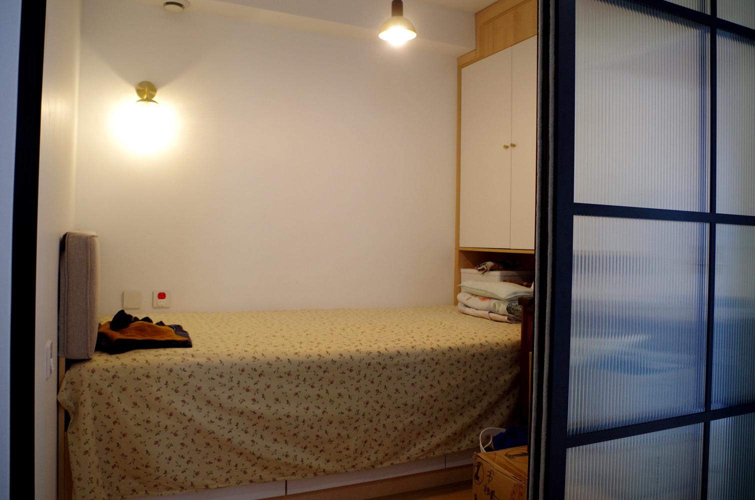 80平二居室装修儿童房实景图