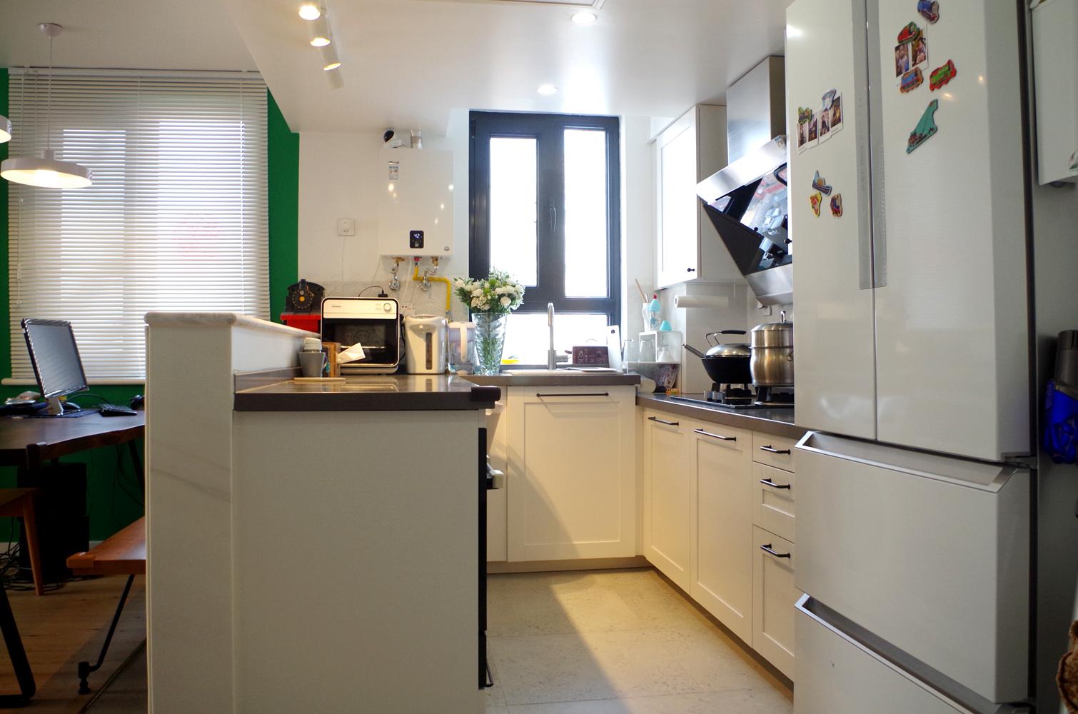 80平二居室装修厨房设计图