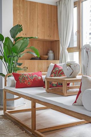 150平新中式空间榻榻米设计