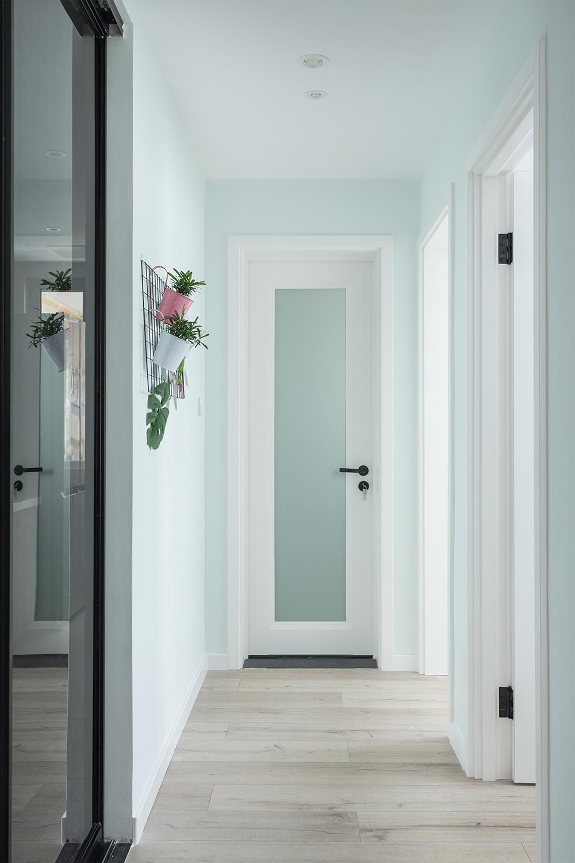 85㎡北欧风之家走廊设计