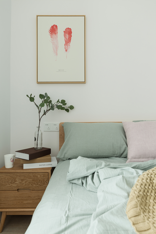 85㎡北欧风之家床头柜图片