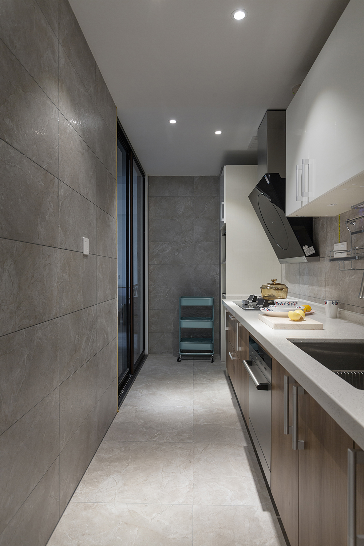 85㎡北欧风之家厨房设计图