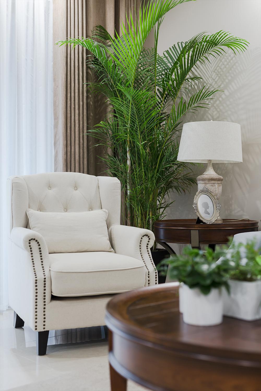 三居室美式风格装修沙发图片