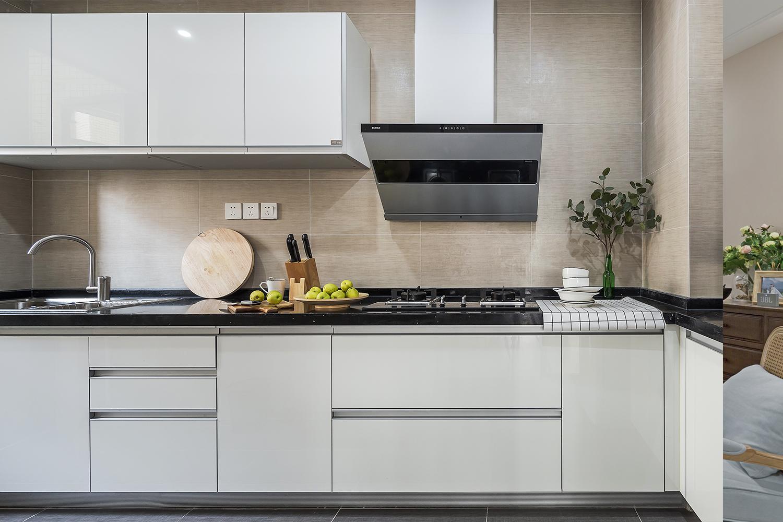 二居室北欧风格家厨房设计图