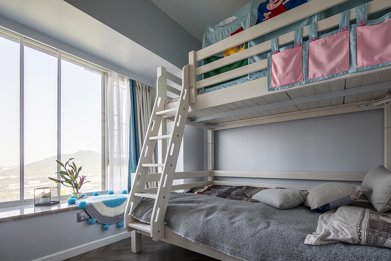165平现代简约装修儿童床设计