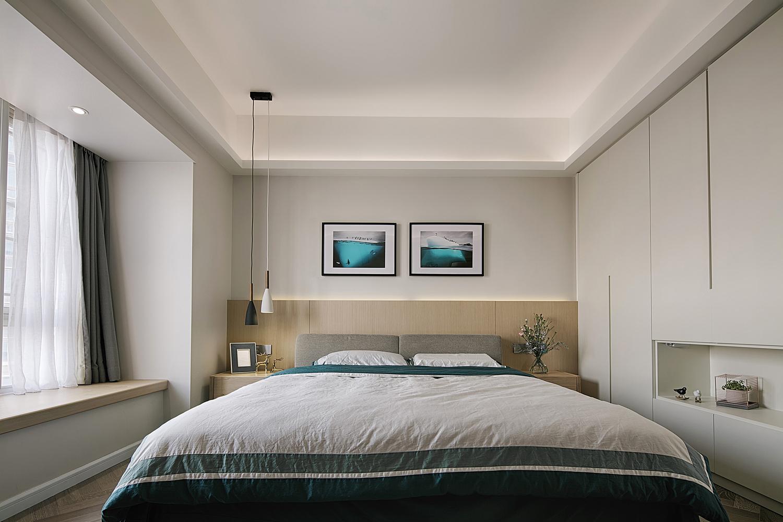 165平现代简约装修卧室效果图