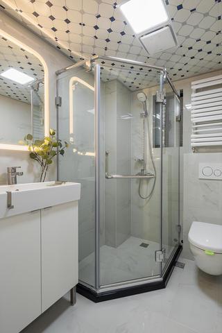 59㎡小户型装修卫生间设计图