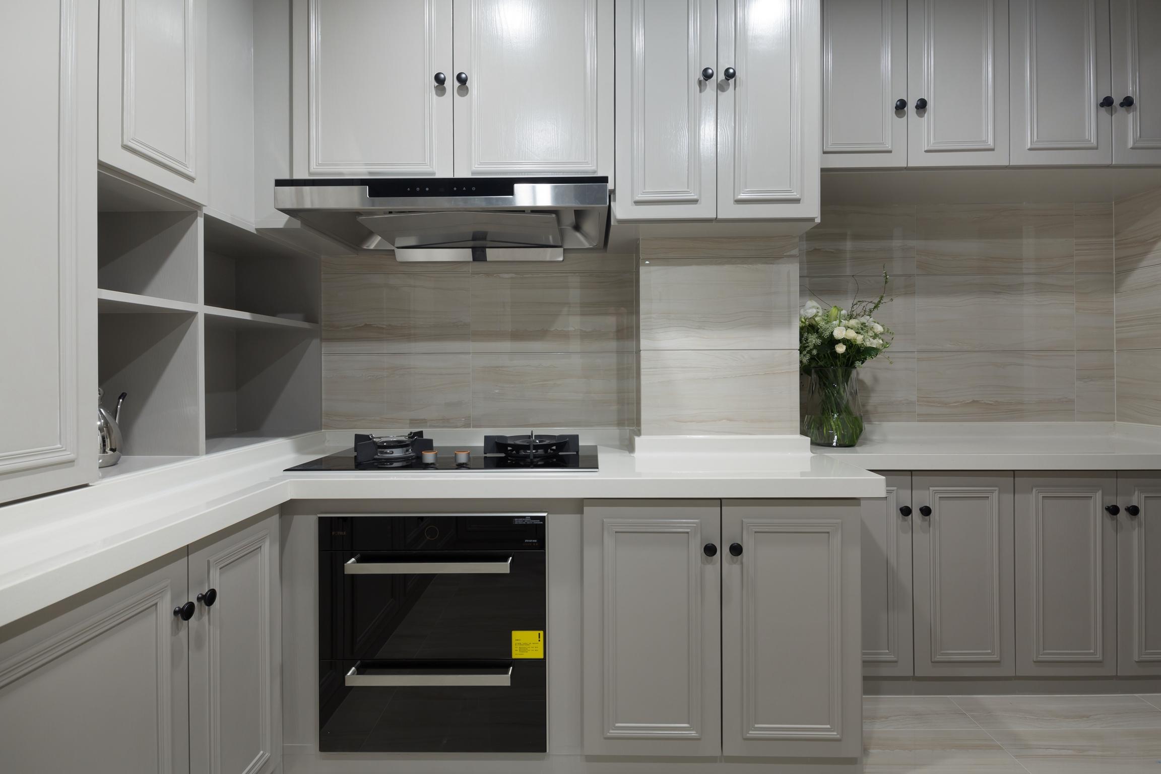 别墅混搭装修厨房设计图