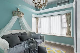 别墅混搭装修卧室效果图