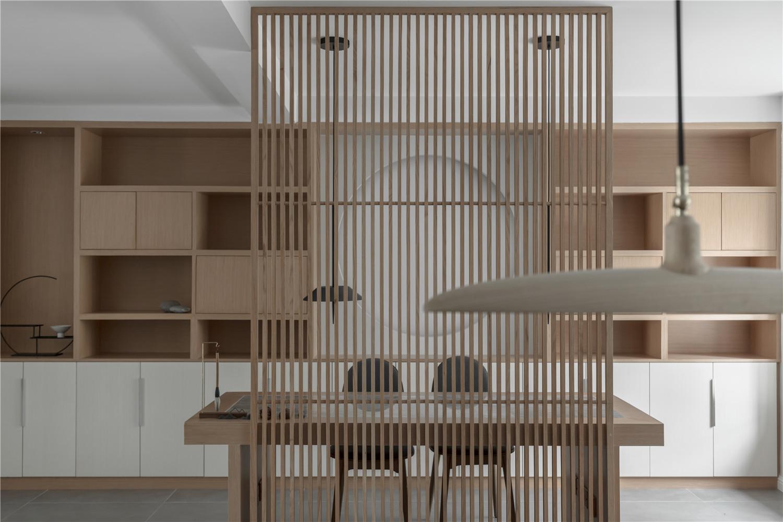 三居室日式风格家餐厅隔断