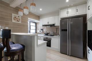 复式别墅装修厨房效果图