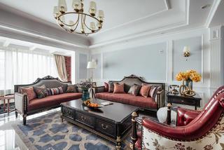 四居室美式之家沙发图片