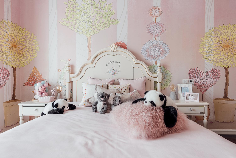 四居室美式之家儿童床图片