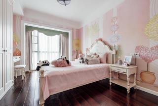 四居室美式之家儿童房效果图