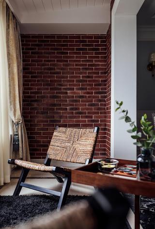 四居室美式之家阳台设计图