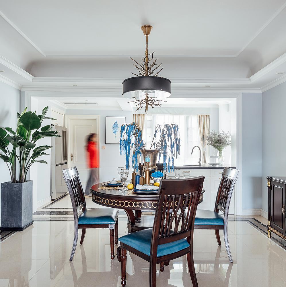 四居室美式之家 蓝色幻想