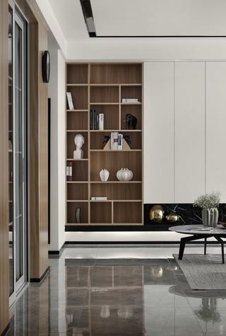 三居室简约风格家收纳柜图片