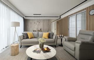 三居室简约风格家沙发图片
