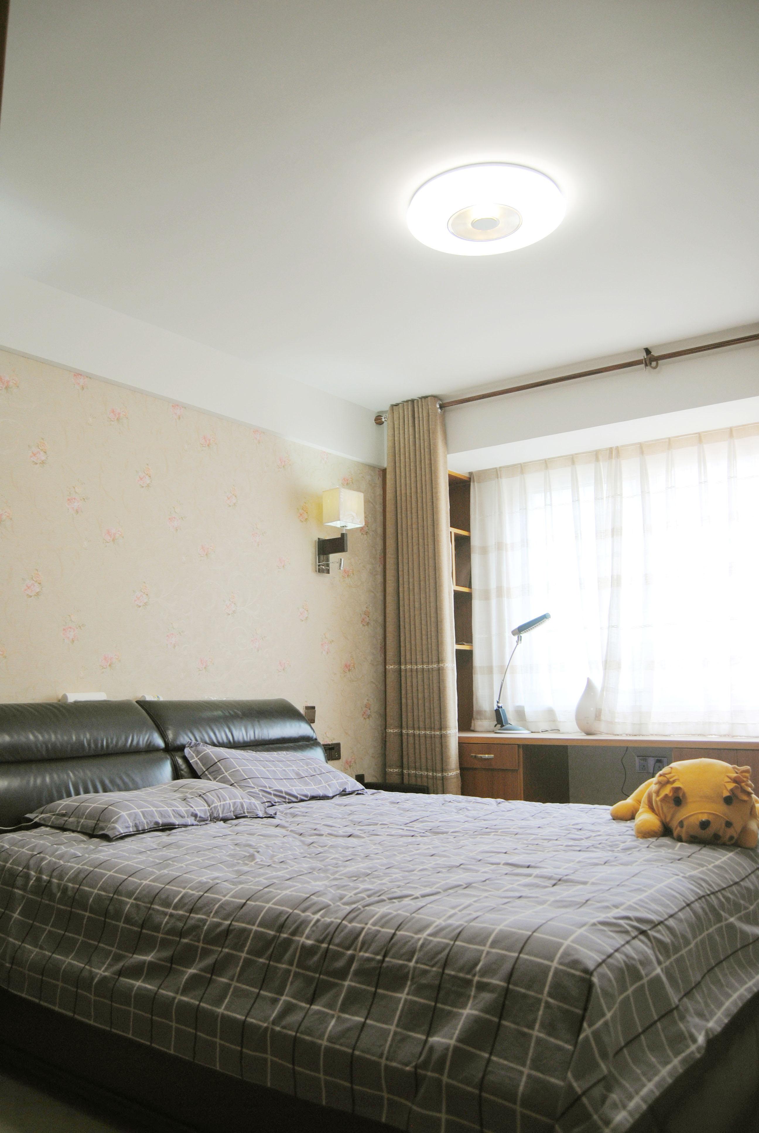 135㎡中式装修卧室欣赏图