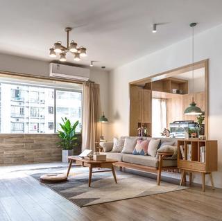 三居室日式风格设计 朴素自然