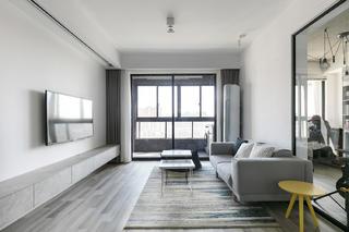 三居室简约之家客厅设计图