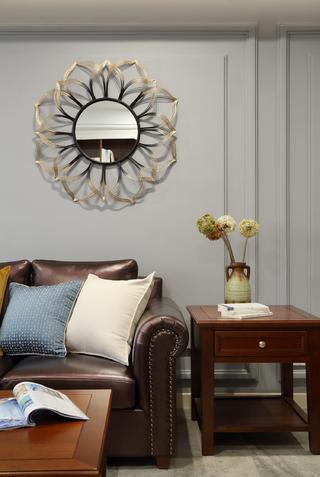 美式风格别墅装修沙发一角