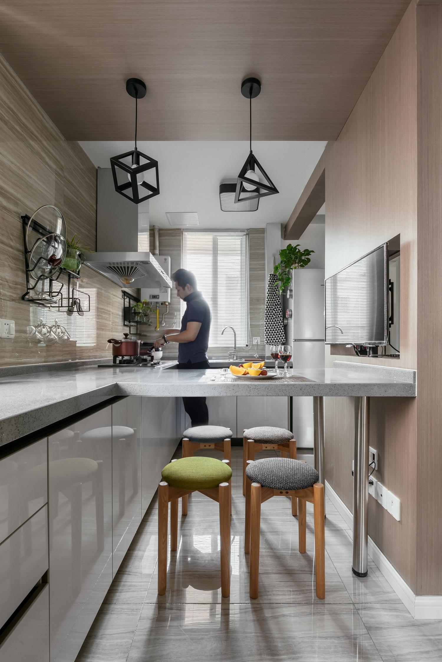 50平小户型厨房设计图