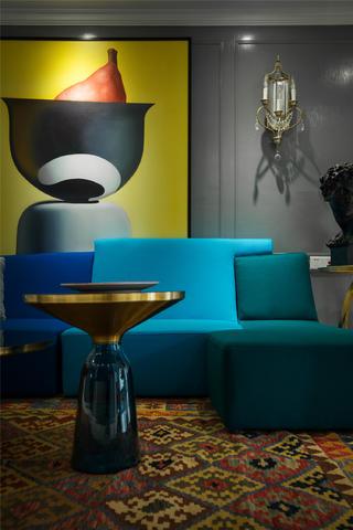 180平混搭风格设计沙发图片