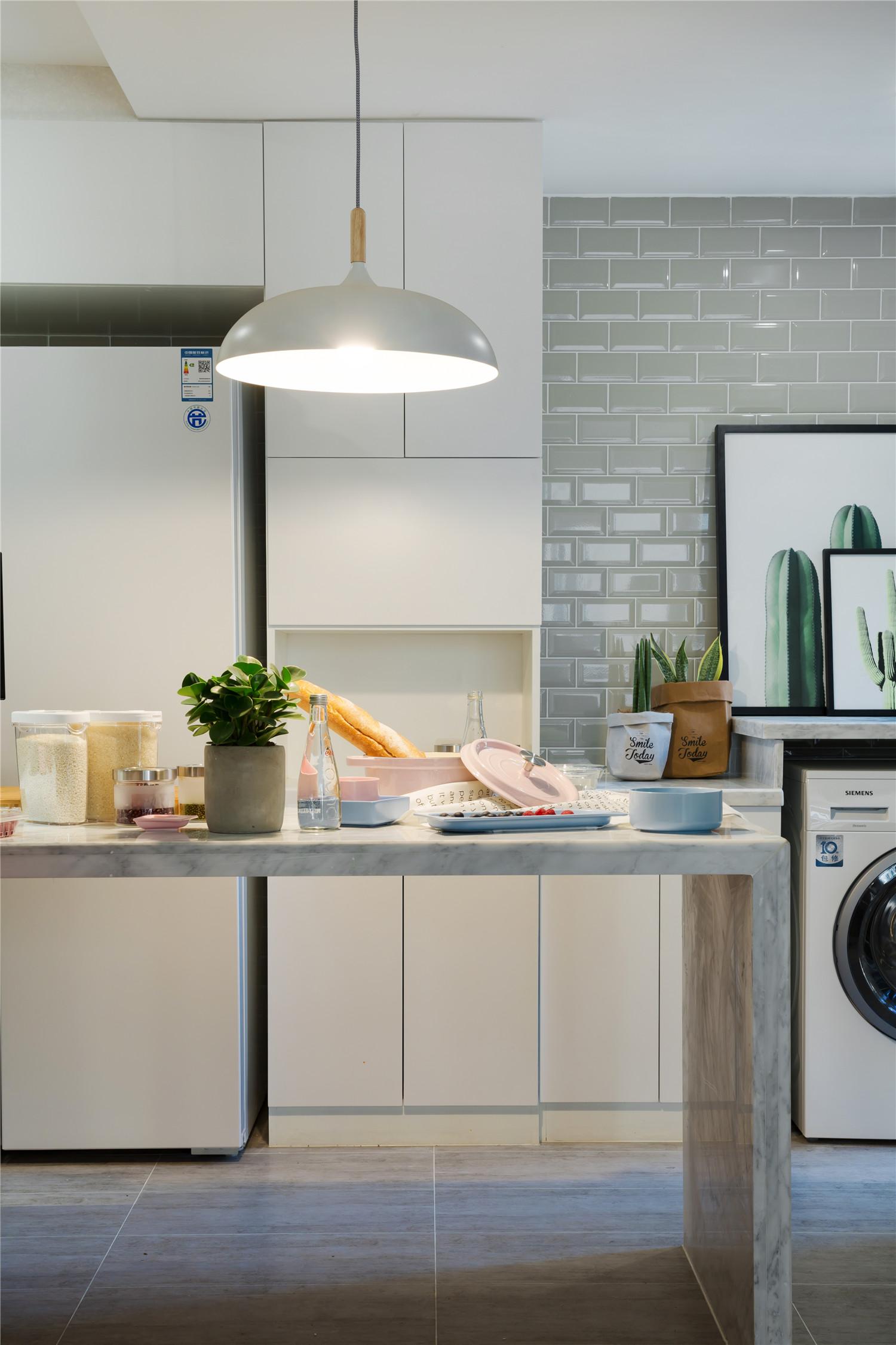 78㎡小户型装修厨房设计图