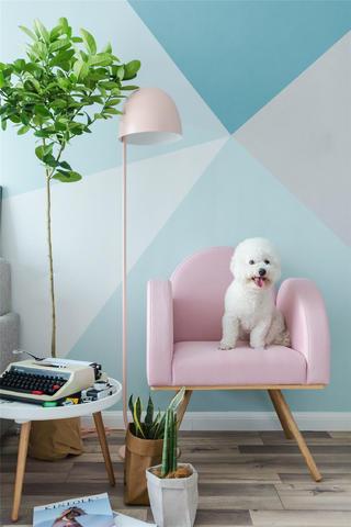 78㎡小户型装修沙发图片
