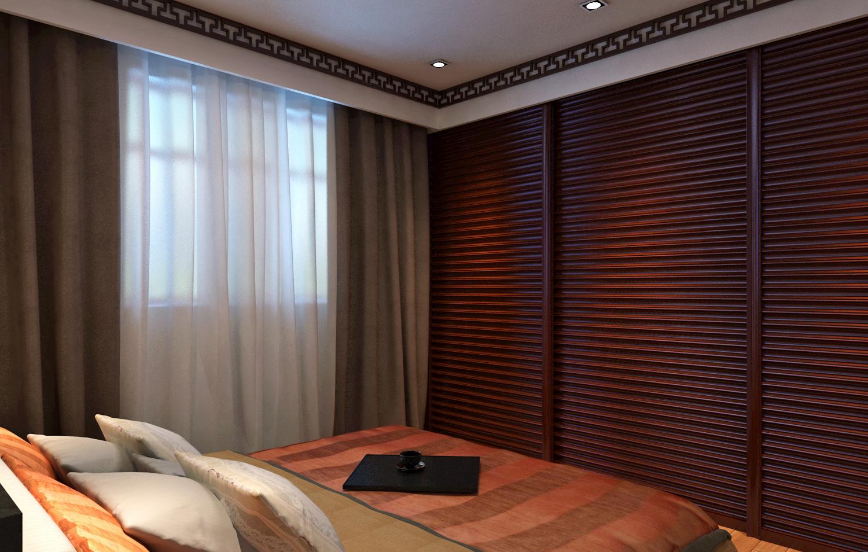 二居室中式风格装修衣柜图片