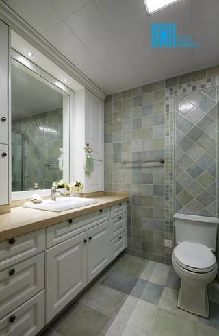 美式風格三居衛生間裝修效果圖
