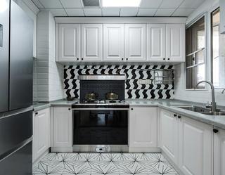 92平美式风格厨房装修注册送300元现金老虎机图