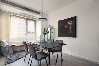 现代简约风格两居餐厅装修效果图
