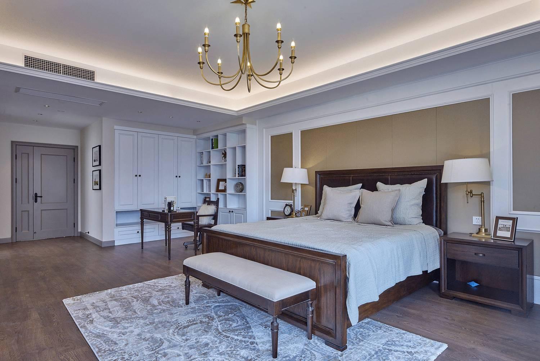 大户型美式卧室每日首存送20