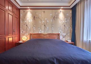 170㎡简约中式卧室装修效果图